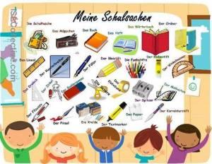 Meine Schulsachen