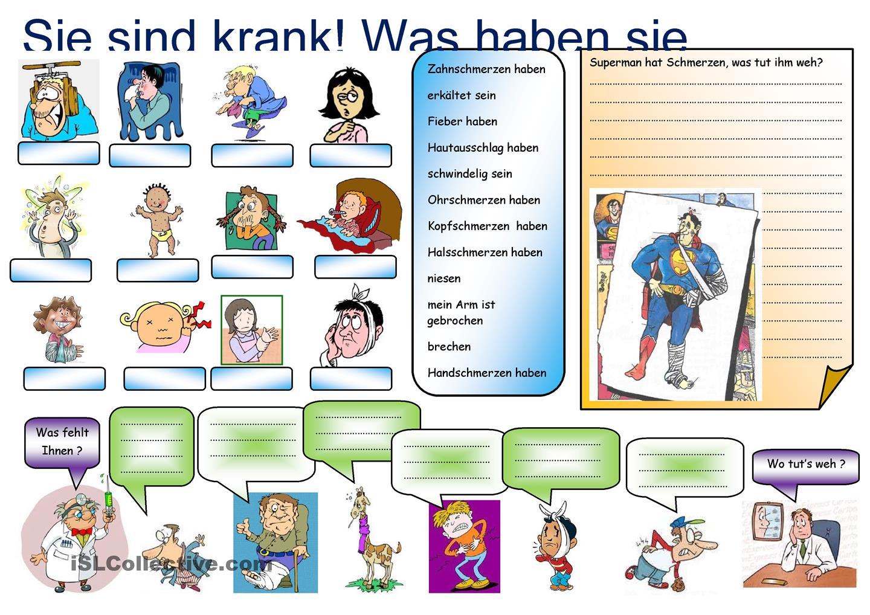 Krankheiten und schmerzen avodaf il tedesco per il tuo for Von deutsch auf englisch