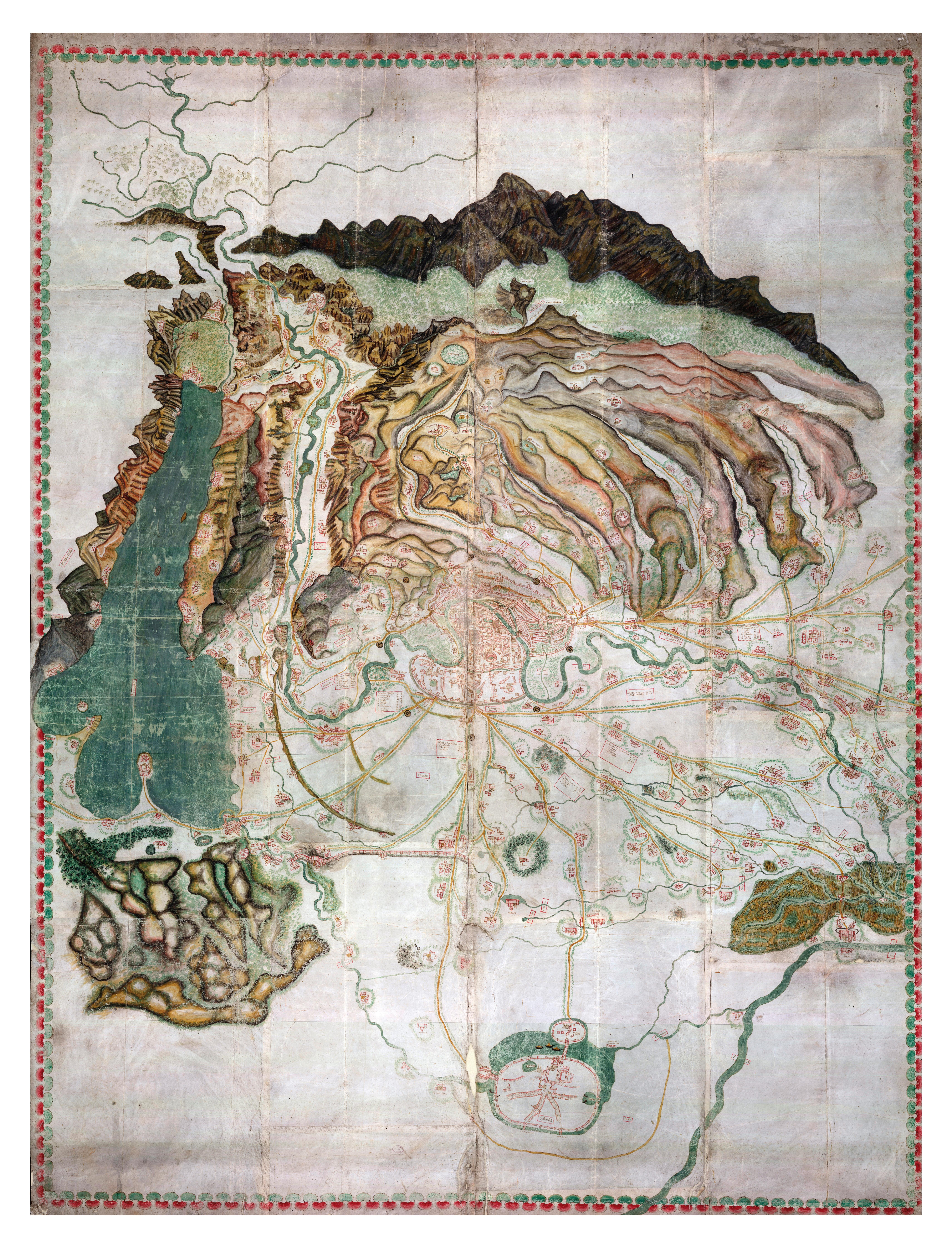 carta del territorio veronese